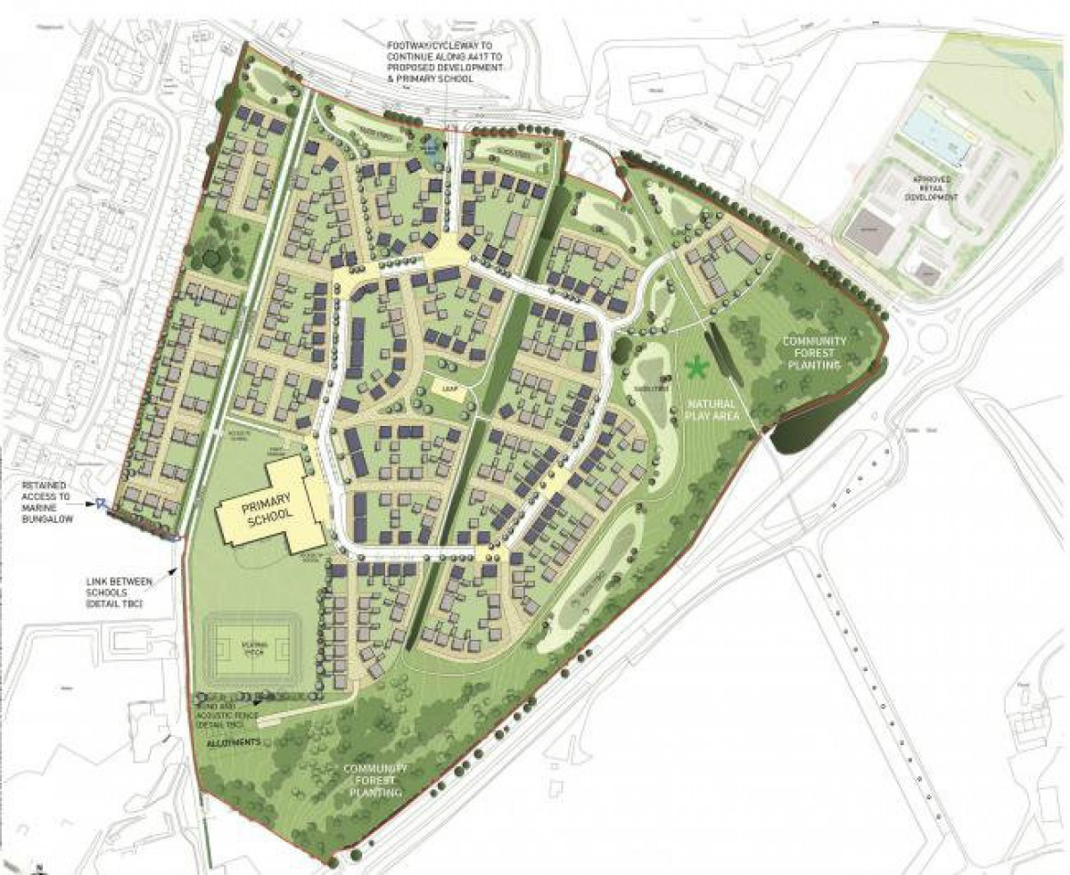 New Faringdon Housing Estate - A Chance To Review the Plans