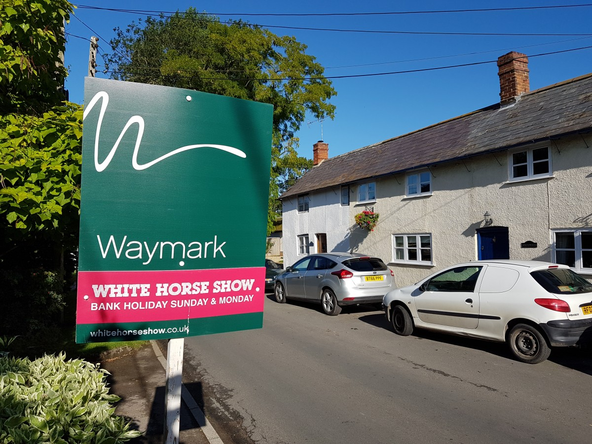 Waymark Property and the 2017 White Horse Show